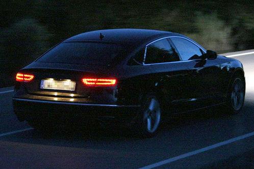 Future Audi A5 Sportback: extérieur nuit