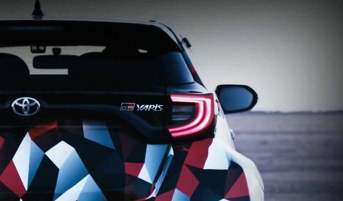 Toyota dévoile une partie de sa Yaris GR-4