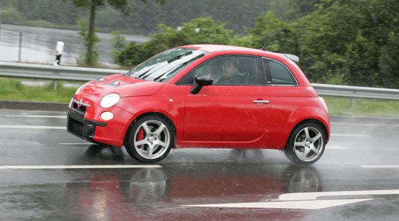 Fiat 500 Abarth : 1088 kg ?
