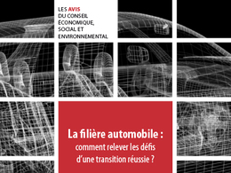 Un avis du CESE milite pour une stratégie européenne industrielle pour la filière automobile