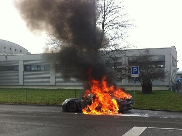 La production de la Porsche 911 GT3 stoppée plusieurs mois ?