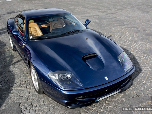 Photos du jour : Ferrari 550 Maranello (KBRossocorsaday)