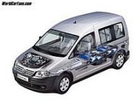 Les Caddy Life et Van de Volkswagen Utilitaires carburent au Gaz Naturel