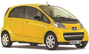 Une Peugeot 1001 électrique en 2010!