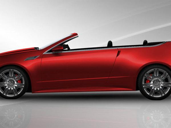 Cadillac CTS : une version cabriolet conçue par un préparateur