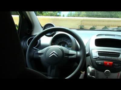 Citroën C1 : l'accès aux chevrons