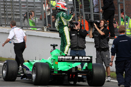 A1GP: L'Irlande sacrée à Brands Hatch