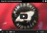 Kawasaki Ninja H2 volume 5: présentation du logo (en vidéo)