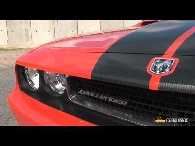 Dodge Challenger SRT-8 : Le mythe ressuscité… mais  pas pour nous