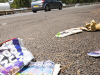 Autoroutes : un Français sur quatre jette encore ses déchets par la fenêtre