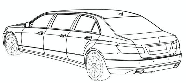Future Mercedes Classe E limousine: comme ça