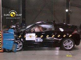 Crash-tests EuroNCAP : le Honda CR-Z hybride obtient 5 étoiles !