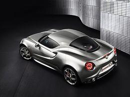 Alfa Romeo 4C: la version définitive pour 2013