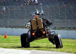 Pas de vainqueur dans la course des voitures sans pilote