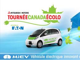 Tournée écolo de Mitsubishi au Canada : l'i-MiEV électrique vient à votre rencontre