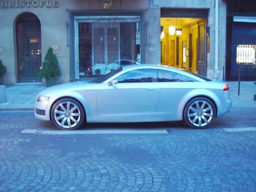 L'Audi Nuvolari a battu le pavé parisien