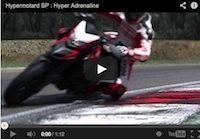 """Ducati Hypermotard SP sauce """"Ducati Corse"""": la vidéo"""