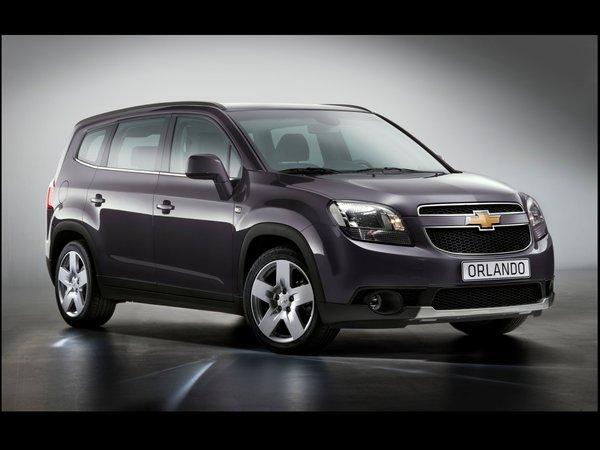 Mondial de Paris 2010 : le Chevrolet Orlando se dévoile