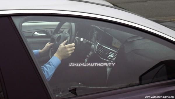 Mercedes CLS 2: bienvenue à bord