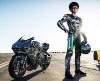 """Kawasaki: la Ninja H2R à la """"Bonneville Speed Week"""""""