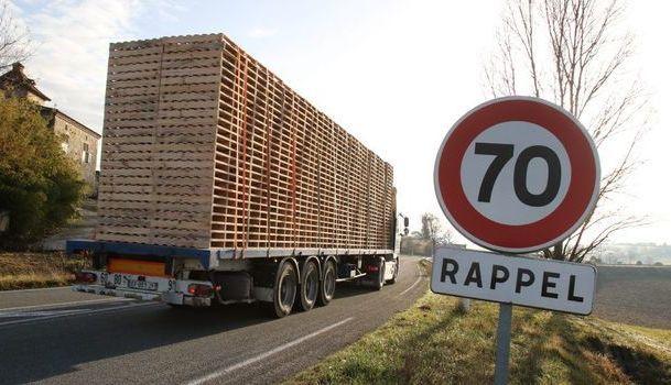Dans les Hautes-Alpes, on supprime les portions à 70km/h