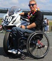 La première épreuve handisport moto, c'est ce week end sur le circuit Carole.