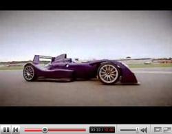 Vidéo Top Gear : Caparo T1 explosive ! (de chronos)