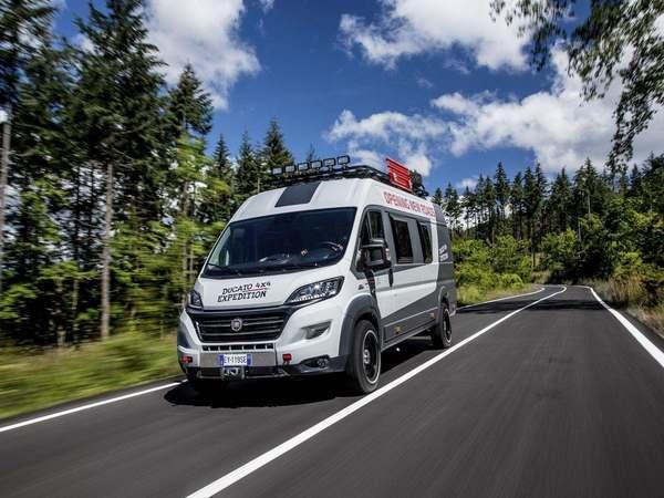 fiat ducato 4x4 expedition concept un van taill pour laventure
