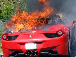Combustions de 458 Italia : Ferrari enquête