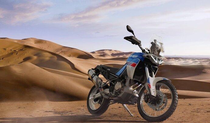 Aprilia nous présente sa Tuareg 660 (2022)
