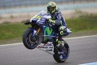 MotoGP -  Assen Rossi : « la course sera peut-être compliquée »