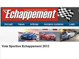 Votez pour la Sportive Echappement 2012