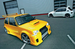 Super 5 GT Turbo VS 205 GTi, le combat continue