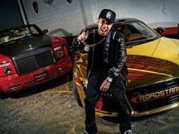 Le rappeur Tyga n'a que 22 ans, mais son garage est déjà bien fourni !