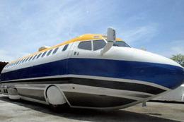 Un avion sans aile comme limousine