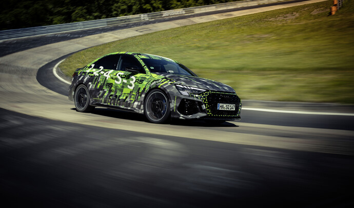 Nürburgring record for the new Audi RS3
