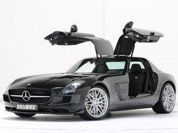 Mercedes SLS AMG par Brabus : on commence gentillement