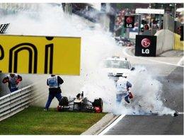 [vidéo] F1 Hongrie : quand la Lotus Renault GP explose