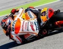 Moto GP – Grand Prix de San Marin J.2: Marc Marquez n'est pas sur la première ligne
