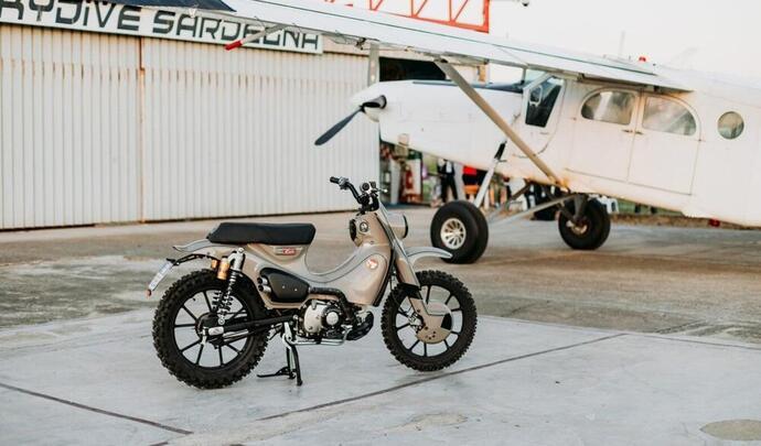Honda Super Cub 125 X par Mann : l'évasion en scooter