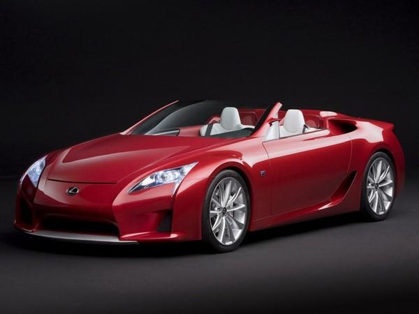 Une Lexus LFA Roadster en 2014 et une GS-F hybride l'an prochain ?