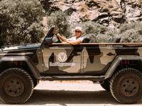 Le Mercedes Classe G devient un cabriolet grâce à Jon Olsson