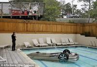 Insolite: Une femme démarre sa voiture... et plonge dans une piscine !