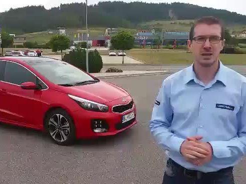 Vidéo - Kia Cee'd restylée : premières images de l'essai en direct de Slovaquie
