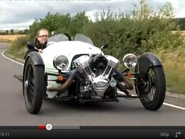 Fifth Gear - Morgan Threewheeler, un Spitfire sans aile