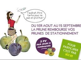 Les producteurs de prunes vous remboursent votre pv