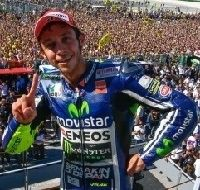 Moto GP – Grand Prix de San Marin: Valentino Rossi et la machine à remonter le temps