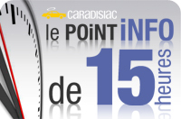 Point Info de 15h - Radars : un jackpot en hausse de 23% en 2009