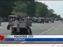 La voiturette de golf, véhicule écolo du futur ?