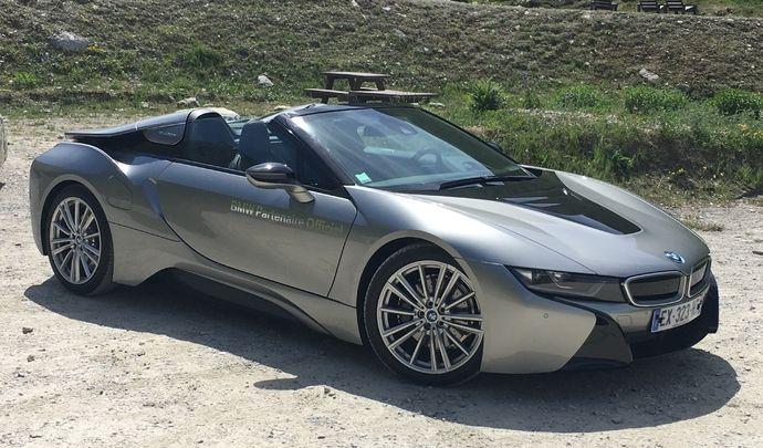 Salon de Val d'Isère 2018 - Prise en mains de la BMWi8 Roadster